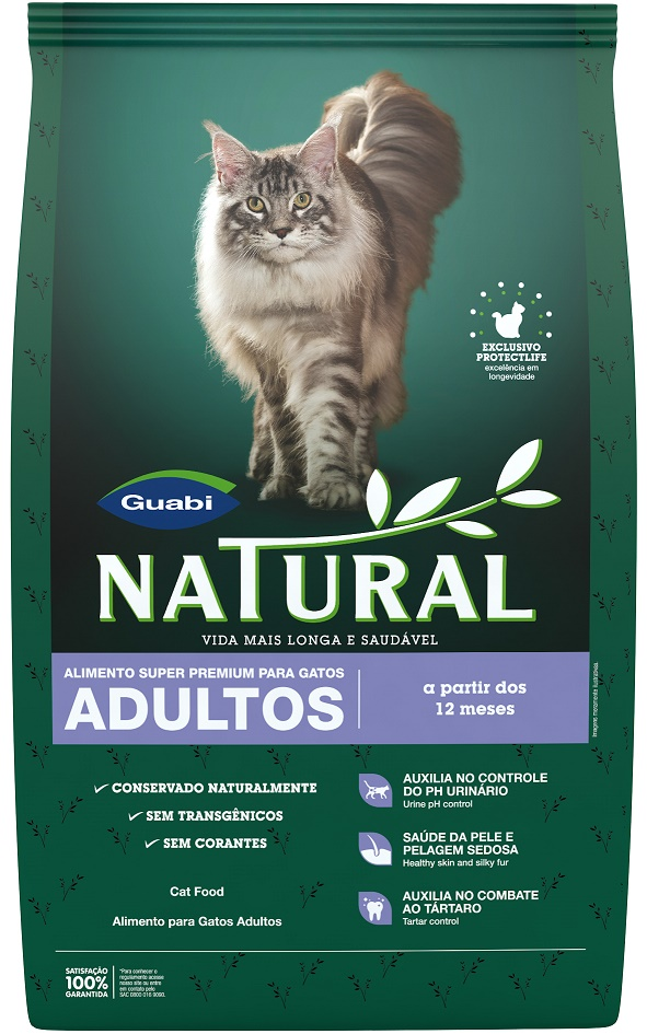 Natural adult cat food